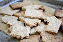 Enjoy taste, flavor, and crunch of homemade crackers